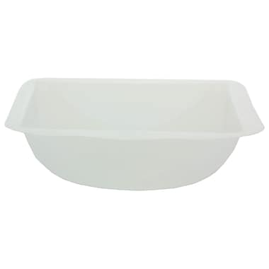Eagle Thermoplastics, Inc. Polystyrene Weigh Dish, Blue, 3.5