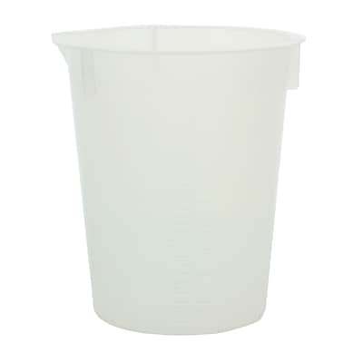 Maryland Plastics, Inc. Polypropylene Disposable Beaker, 30ml, 100/Pack