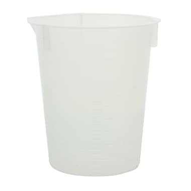 Maryland Plastics, Inc. Disposable Beaker, 100ml, 100/Pack