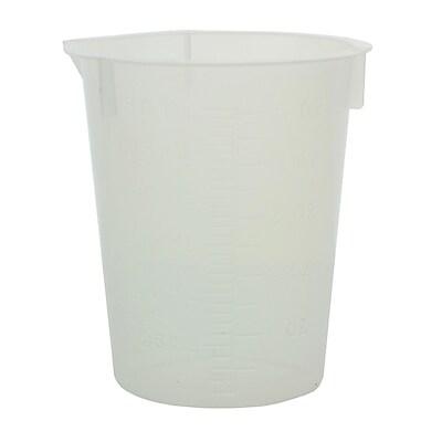 Maryland Plastics, Inc. Disposable Beaker, 150ml, 100/Pack