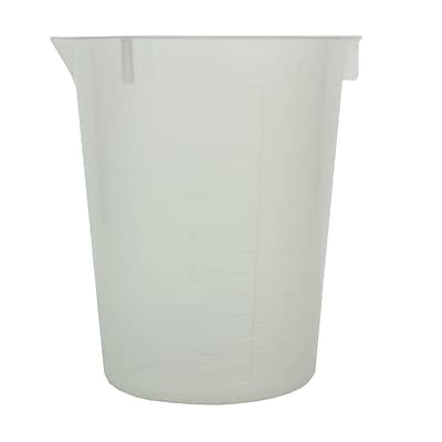 Maryland Plastics, Inc. Disposable Beaker, 400ml, 50/Pack