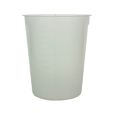 Maryland Plastics, Inc. Disposable Beaker, 600ml, 25/Pack