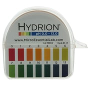 Micro Essential Lab Hydrion Jumbo pH Paper Dispenser, 0-13