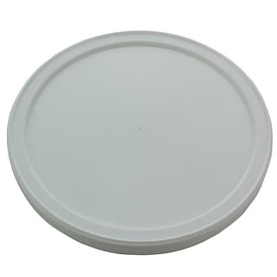 Airlite Plastics Company LDPE Round Lid, White, 1000/Case