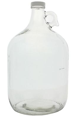 Environmental Sampling Supply Narrow Mouth Sample Bottle, 3785 ml, 4/Case
