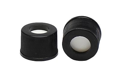 JG Finneran PTFE/Silicone Screw Caps, 100/Pack