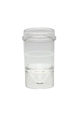 Globe Scientific Inc. Polystyrene Analyzer Cup, 1000/Pack 1603218
