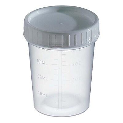 Kendall Healthcare Specimen Container, Ungraduated, 100/Case