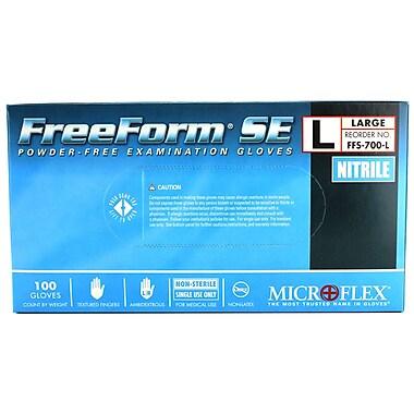 Micro flex FreeForm SE Nitrile Gloves, Large, 100/Pack