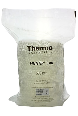 Molecular BioProducts Finnitip Pipet Tip, 1-5 ml, 500/Pack