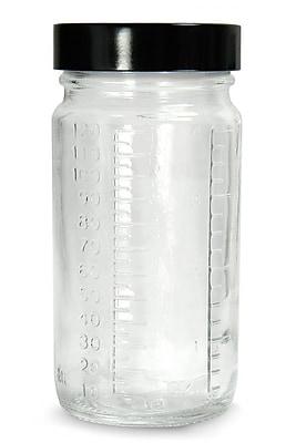 Qorpak Graduated Medium Round Bottle with Cap, 30 ml, 432/Case