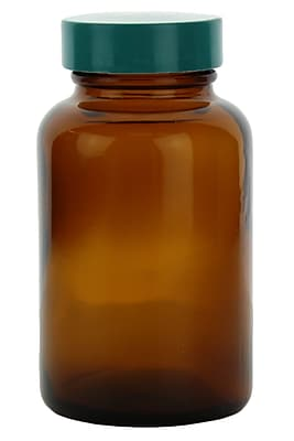 Qorpak Wide Mouth Packer Bottle, 120 ml, 24/Case