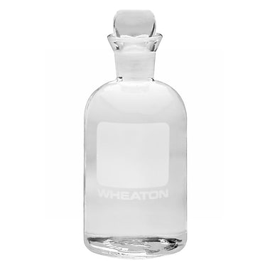 Wheaton Science Products Glass BOD Bottle, 300 ml, 24/Case