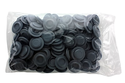 Wheaton Science Products Chlorobutyl Stopper Cap, Gray, 100/Case