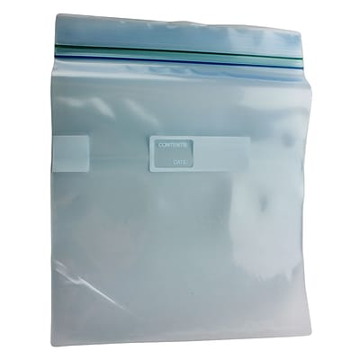 1qt Zipper Freezer Bag, 300/Case