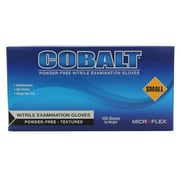 High Five Products Inc Nitrile Gloves, Cobalt, Small, 100/Pack