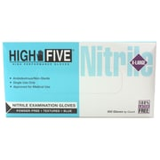 High Five Products Inc Nitrile Gloves, XL, 100/Pack