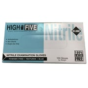 High Five Products Inc Nitrile Gloves Blue 2XL, 100/Pack (HFG N855 PK)