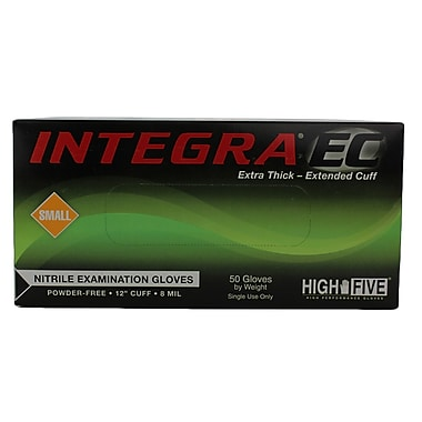 High Five Products Inc Integra Nitrile Gloves, Small, 50/Pack