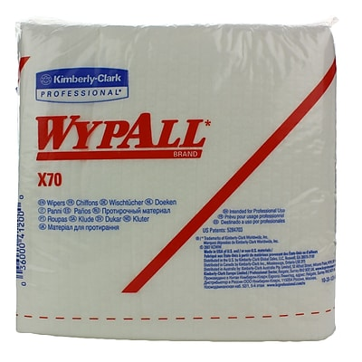 Kimberly-Clark WYPALL X70 Wipers, 912/Case
