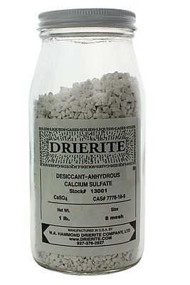 W.A. Hammond Drierite Co. Regular Drierite, 1 lbs, 8 Mesh