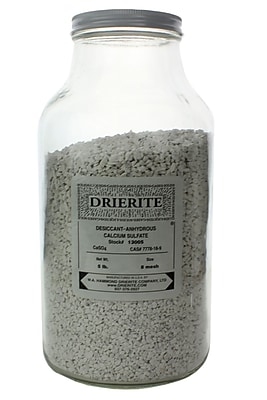 W.A. Hammond Drierite Co. Regular Drierite, 5 lbs, 8 Mesh