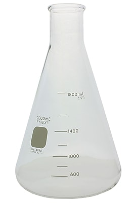 Pyrex Erlenmeyer Flask, 2000ml