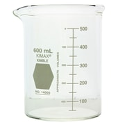 Kimble Chase LLC Low Form Heavy Duty Beakers, 600ml