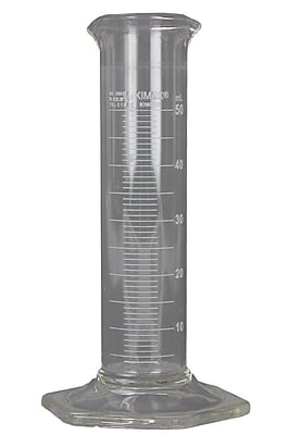 Kimble Chase LLC Low Form Cylinder, Class B , 50ml