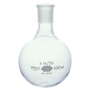 Kimble Chase LLC Round Bottom Short Neck Flask, 12/Case