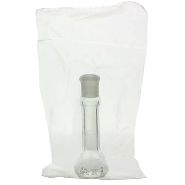 Kimble Chase LLC Volumetric Flask with Glass Pennyhead Stopper, 5ml, Class A