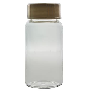 Kimble Chase LLC Scintillation Vial with Attached Urea Cap and Polyseal, 20ml, 500/Case