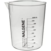 Nalge Nunc International Corp Griffin Beaker, 2000ml, Low Form