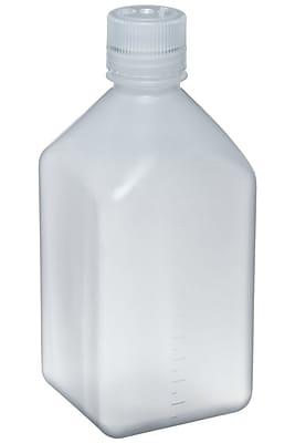 Nalgene Narrow Mouth Square Bottle, 250 ml, 12/Pack