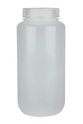 Nalge Nunc International Corp LDPE Wide Mouth Bottle, 1000 ml, 24/Case