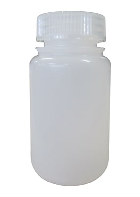 Nalge Nunc International Corp HDPE Lab Quality Wide Mouth Bottle, 60 ml, 12/Pack