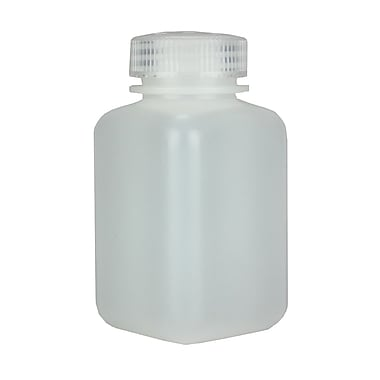 Nalge Nunc International Corp Wide Mouth Square Bottle, 175 ml, 12/Pack