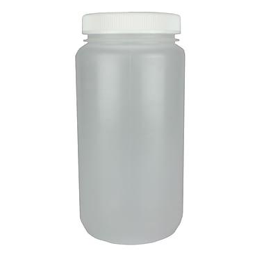 Nalge Nunc International Corp HDPE Large Wide Mouth Bottle, 4000 ml