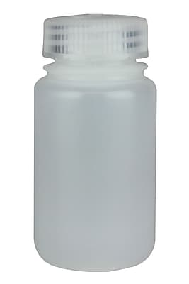 Nalge Nunc International Corp 125 ml Wide Mouth Economy Bottle, 72/Case
