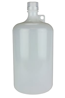 Nalge Nunc International Corp Large Narrow Mouth Bottle, 2000 ml, 6/Case