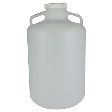 Nalge Nunc International Corp LDPE Wide Mouth Carboy with Cap, 20 l
