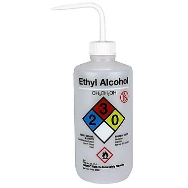 Nalge Nunc International Corp Ethyl Alcohol Wash Bottle, 500 ml, 6/Pack