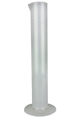 Nalge Nunc International Corp Polypropylene Economy Graduated Cylinder, 1000ml