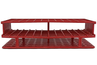 Nalge Nunc International Corp Test Tube Rack, Red, 72 Place