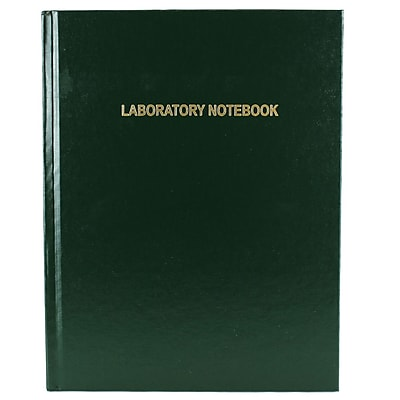 Nalge Nunc International Corp Laboratory Notebook, 6mm Gridded Pages