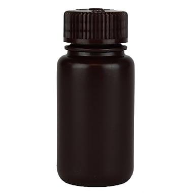 Nalge Nunc International Corp Amber Wide Mouth Economy Bottle, 60 ml, 72/Case