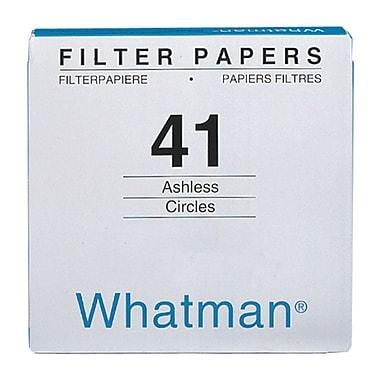 Whatman GE Healthcare Biosciences Filter Paper, 4.33
