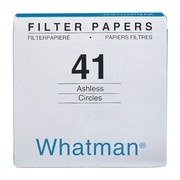 "Whatman GE Healthcare Biosciences Filter Paper, 4.33"", Grade 41, 100/Pack"