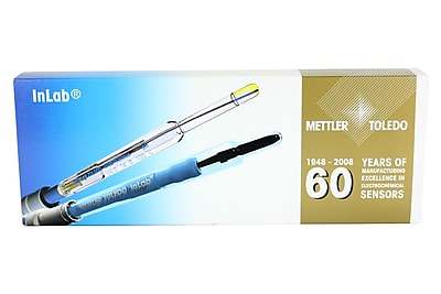 Mettler Expert Pro 0-14 pH PEEK pH Electrode