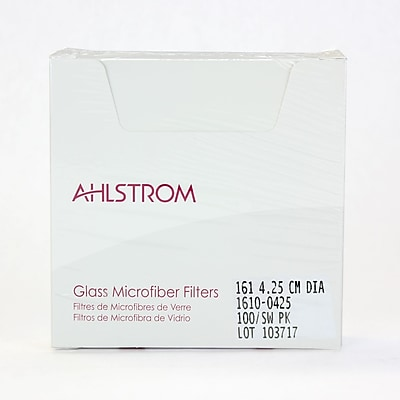Ahlstrom Filtration LLC Filter Paper, Grade 161, 1.67